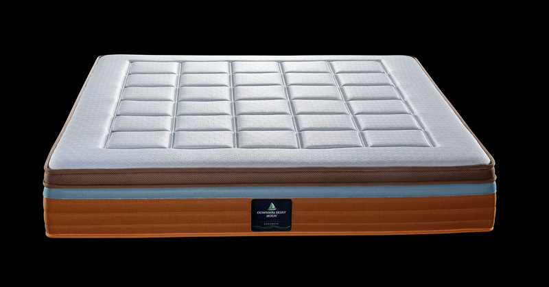 Memory Foam Topper 10 Inch Double Layer Pocket Spring Mattress